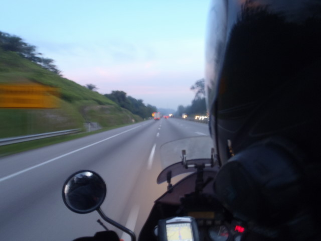 on the way to Port Klang