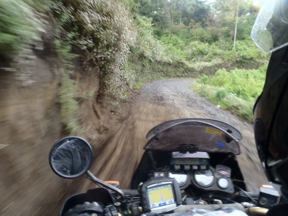 heading towards Bromo from the west