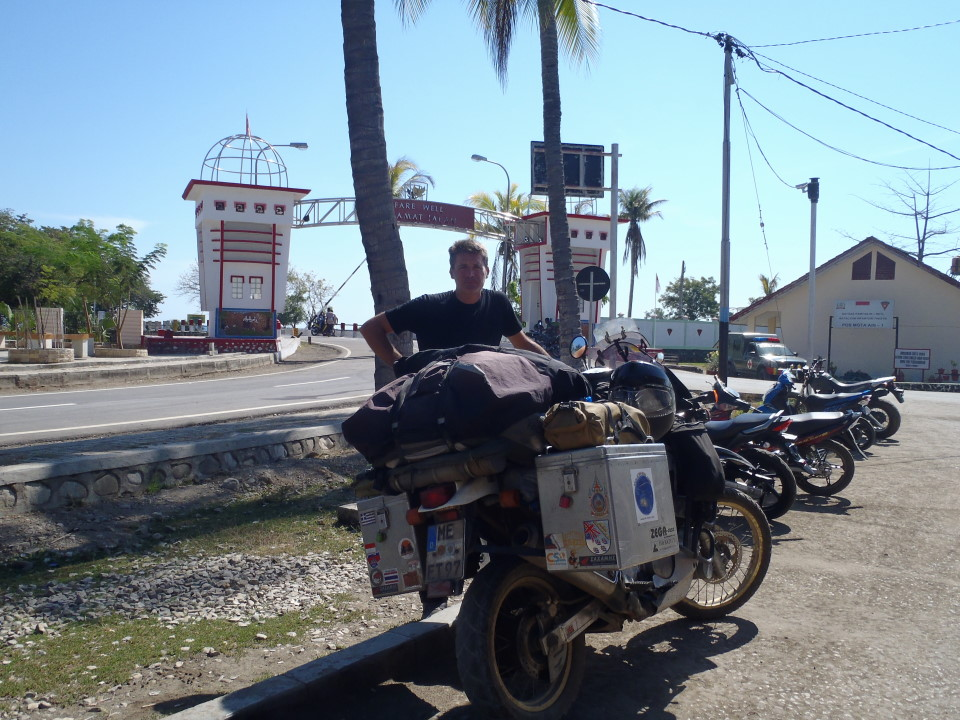 West Timor border