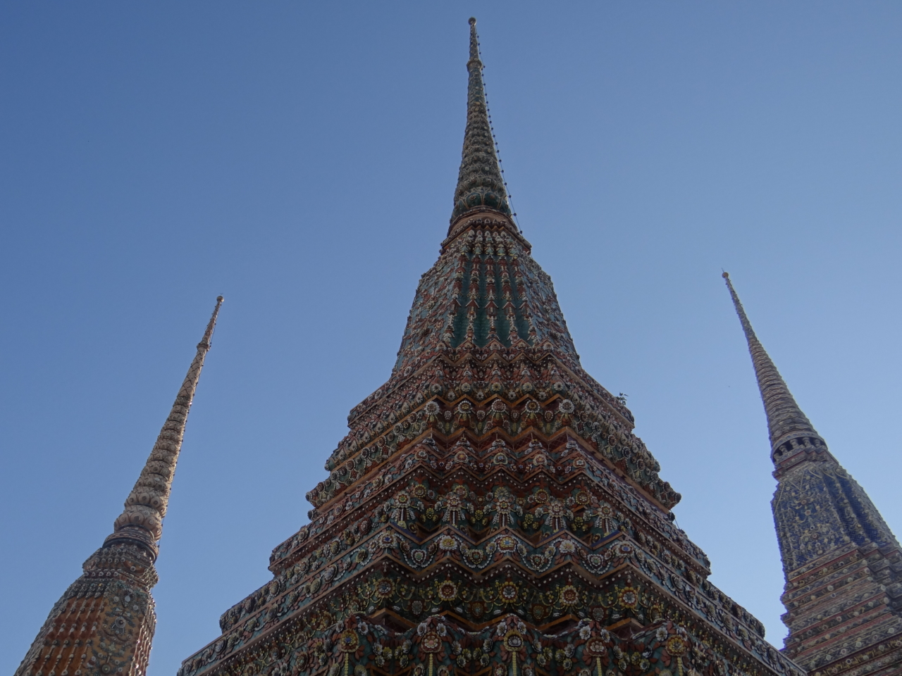 Wat Pho, one of the largest and oldest wats in Bangkok