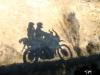 loving riding the nature