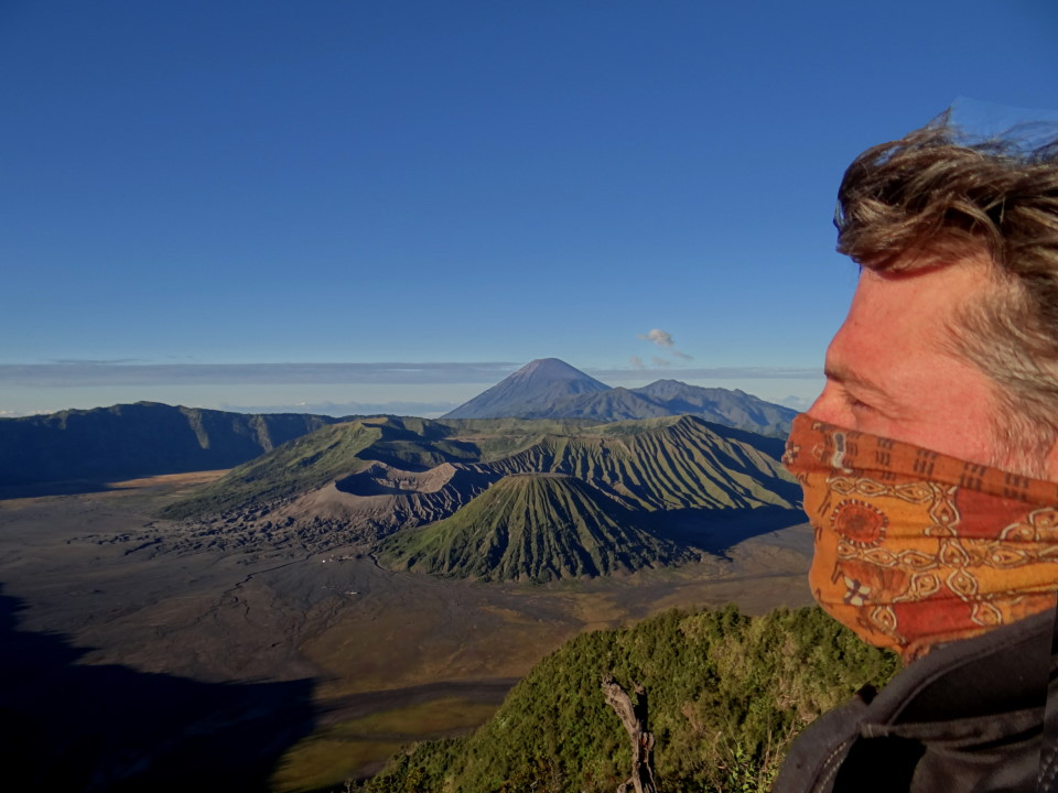 Mount Bromo (Gunung Bromo), is an active volcano