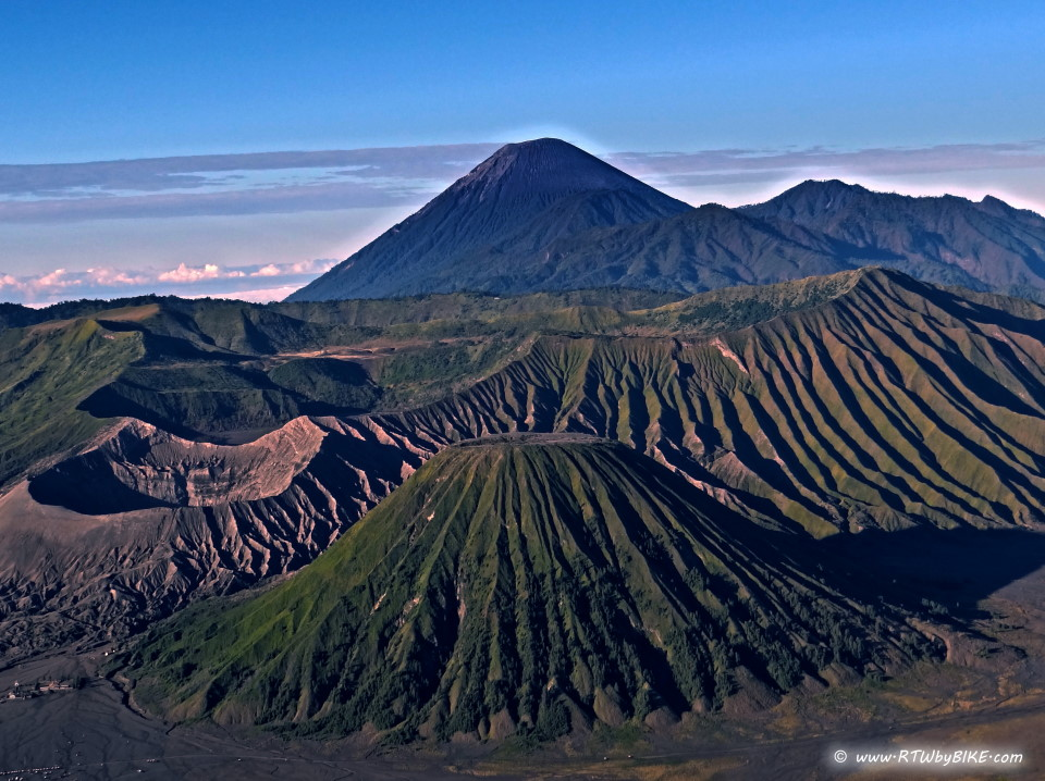 and part of the Tengger massif, in East Java
