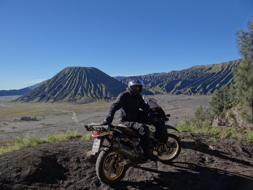 The name of Bromo derived from Javanese pronunciation of Brahma, the Hindu creator god.