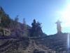 On the Segara Wedi sand plain sits a Hindu temple called Pura Luhur Poten