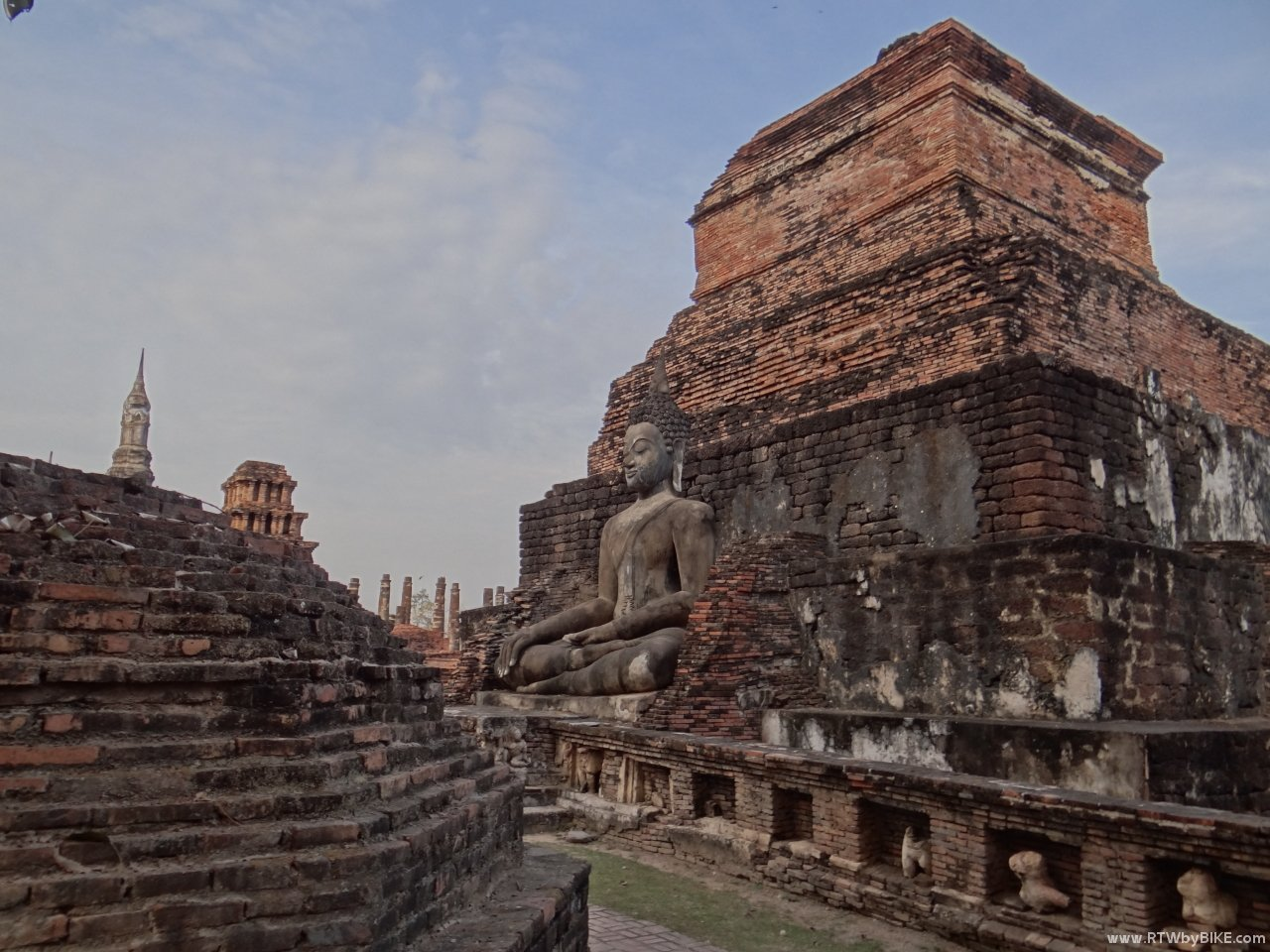 ... was the capital of the first Kingdom of Siam in the 13th and 14th centuries.