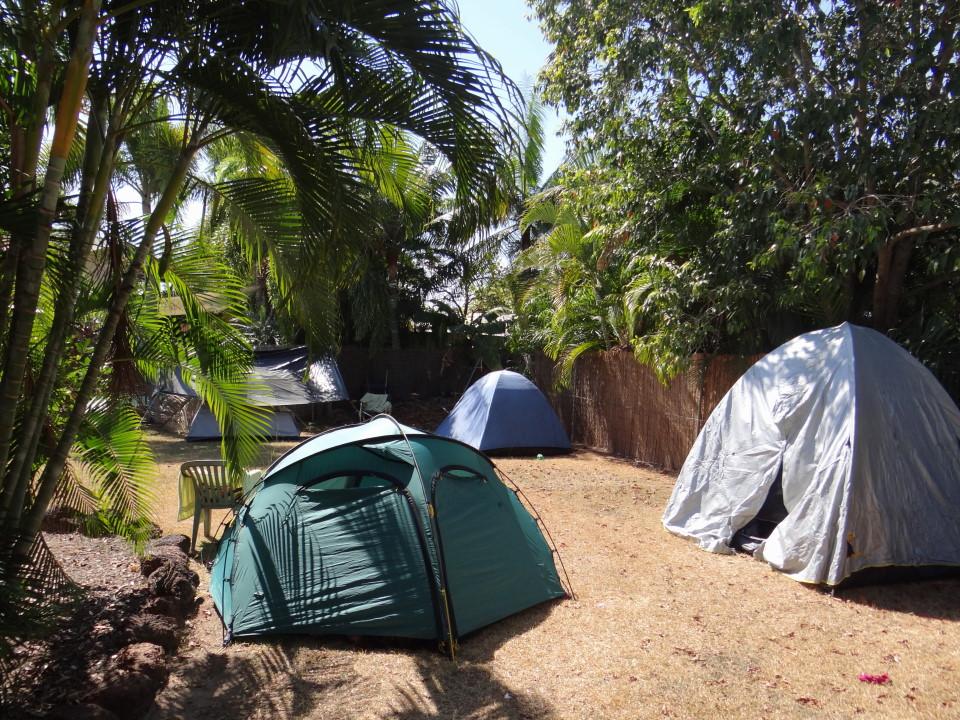 Tent garden