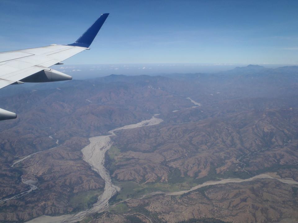 stunning views on East Timor