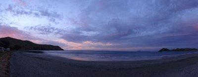 sunset at Port Jackson