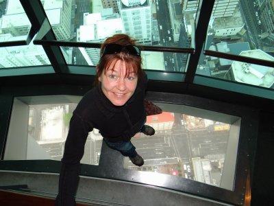 Sky tower elevator