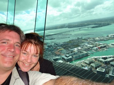 Sky tower and us