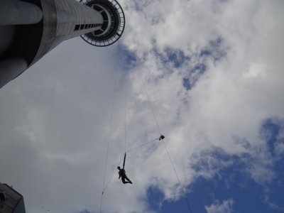 Sky tower - bungee jump