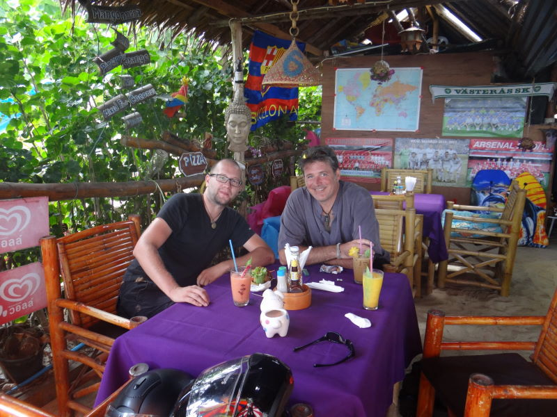 with Ingo - we met already in Laos