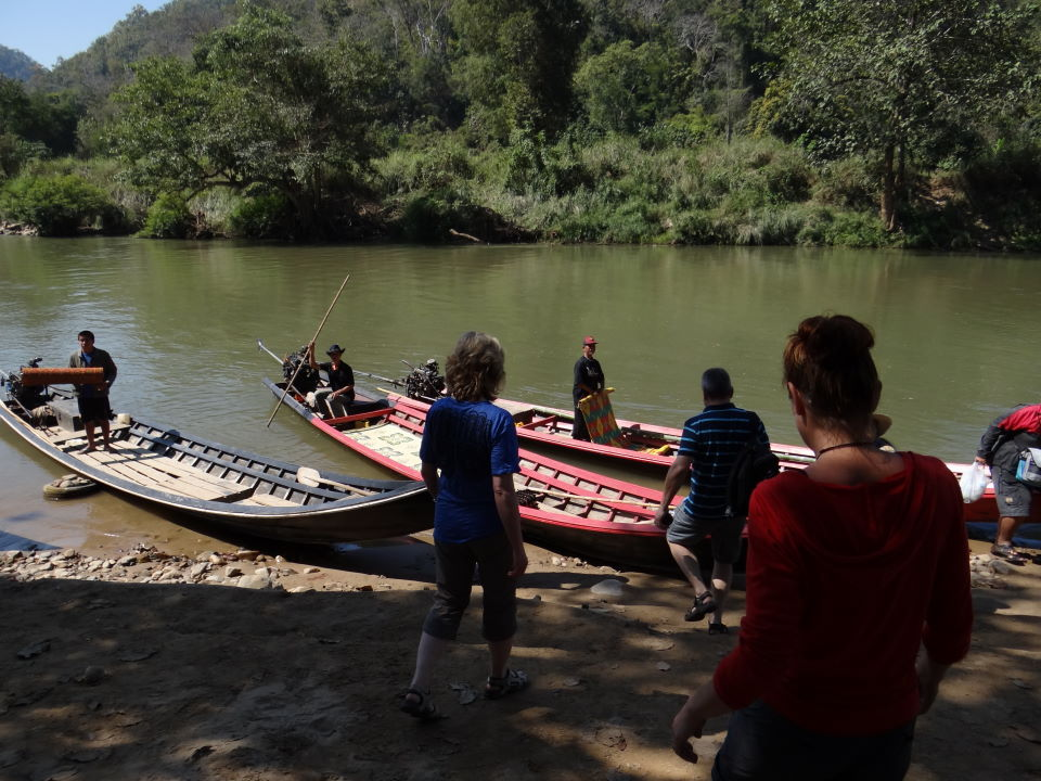 Mae Hong Son, boat trip along the Burma border