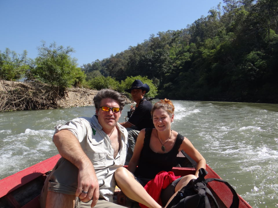 Mae Hong Son, boat trip along the Burma border