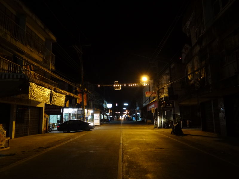 Chiang Khong in the evening