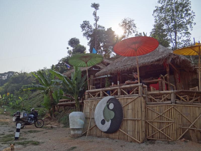 Khong river bank