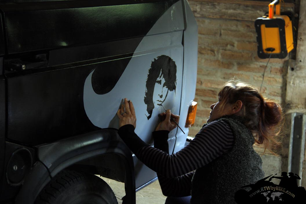 Bulli painting - Jim