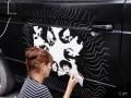 Rock´n Roll Bulli paint action