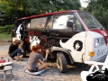 Bulli paint action by Anne & Kerstin