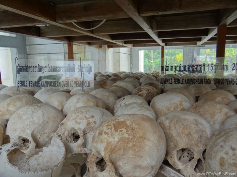 ...containing thousands of human skulls and long bones