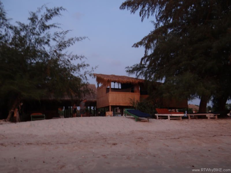 our hut, Otres Beach, Sihanoukville