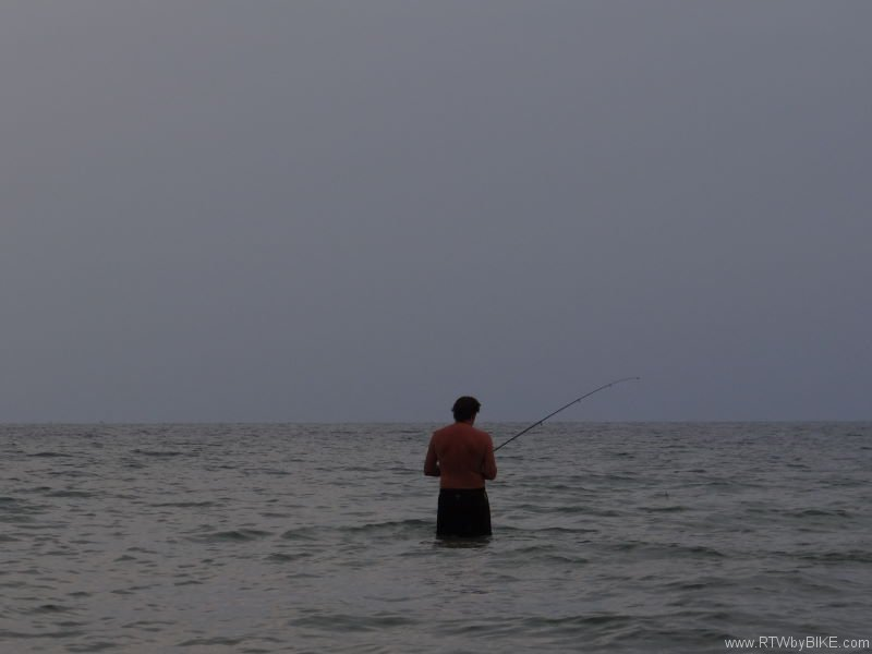 fishing, Otres Beach, Sihanoukville