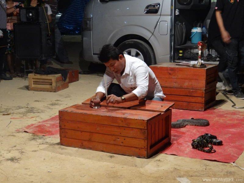 snake charmer, Ban Phen
