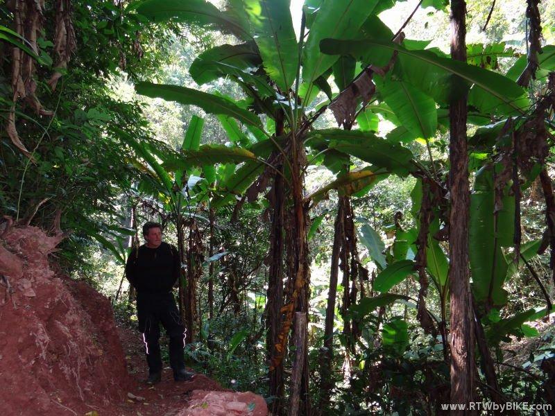 waterfall around Luang Namtha