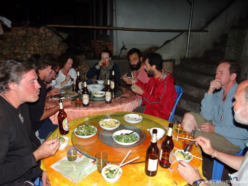 dinner in Phongsali with some like-minded people