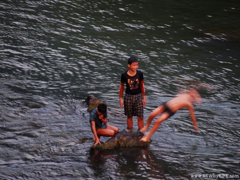 Ou River activities