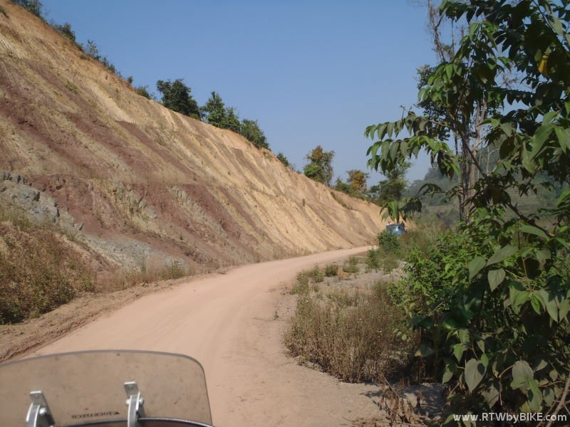 dusty jungle roads...