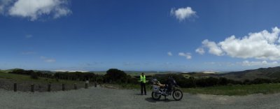 Cape Reinga in the background