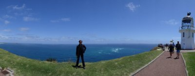 Cape Reinga - where the 2 Ocean coming togethers