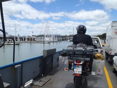 Ferry from Okiato to Opua