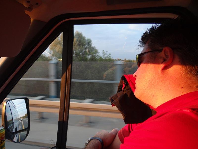 sleep or drive baby!