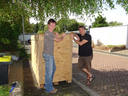 crate testrun done, THX Konrad!