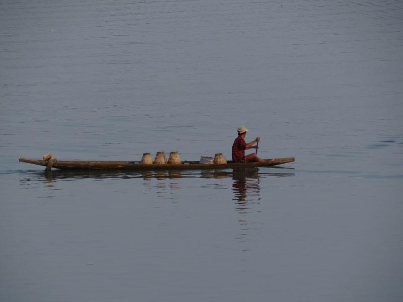 Mekong River, Champasak, Don Khong