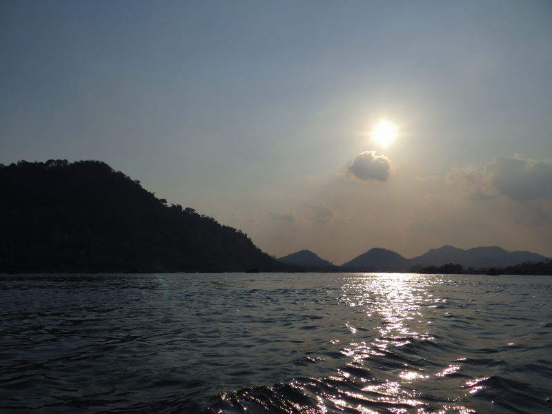Mekong boat trip Don Khon, Four Thousand Islands
