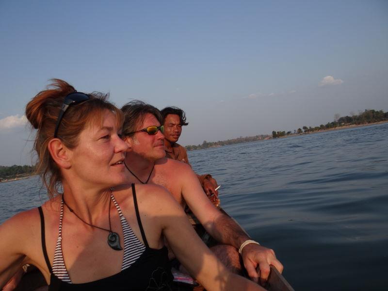 Mekong boat trip, Don Khon, Four Thousand Islands