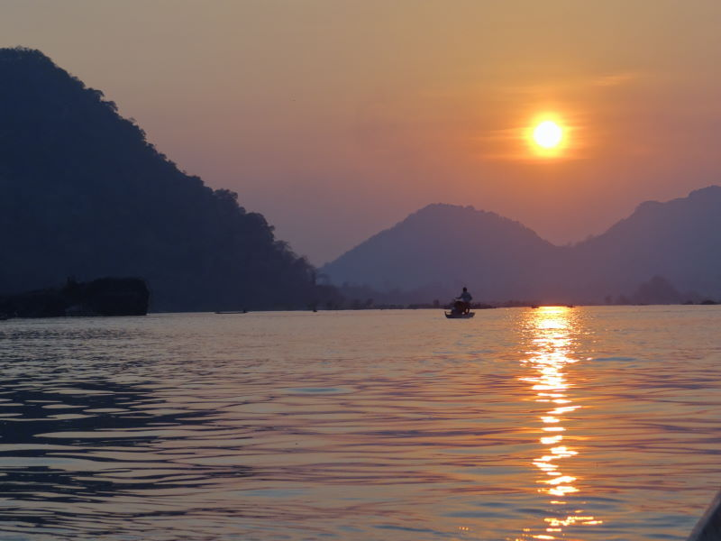 Mekong boat trip, Don Khon, Four Thousand Islands