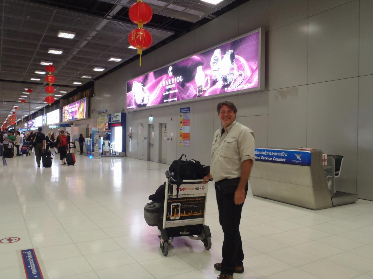 Arrival BKK Airport