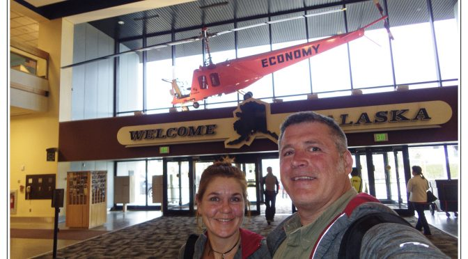 Happy arrival in Alaska, Anchorage and welcoming our motorcycles