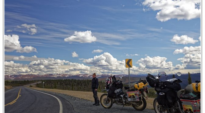 The Arctic Circle, a SPA-day, Top of the World Highway (TOW) and historical Dawson City